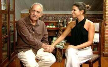 Sarah Oliveira entrevista Paulo José - A repórter do Video Show faz o perfil do ator, que está no elenco de Caminho das Índias.