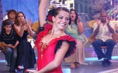 Karina Bacchi foi a vencedora da primeira edição do 'Dança dos Famosos'