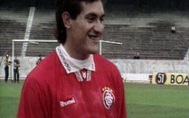Em 1995, Gamarra estreia no Inter