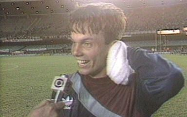 Em 1988, Gaúcho brilha nos pênaltis e Palmeiras vence o Flamengo pela Copa União