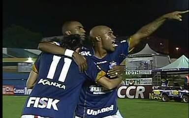 Assista ao gol citado pelo meia em Santo André