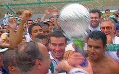 Em 1997, América-MG vence o Vila Nova-GO e conquista o título da Série B