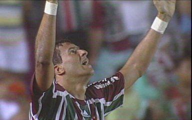 Em 2008, Washington marca duas vezes e Fluminense vence o Säo Paulo pela Libertadores