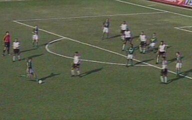 Em 2001, Palmeiras vence por 3 a 1 América-MG pelo Campeonato Brasileiro
