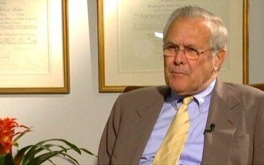 Rumsfeld: 'sentí el impacto del avión que chocó contra el Pentágono'