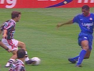 Em 2000, São Caetano vence o Fluminense por 1 a 0 pela Copa João Havelange