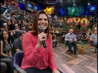 Luiz Felipe Scolari fala se sexo antes das partidas atrapalha, mas uma pessoa da plateia chama atenção com pergunta