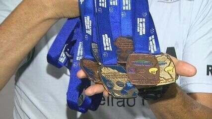 Idosa fica entre os dez primeiros lugares do Campeonato Brasileiro de Natação Master