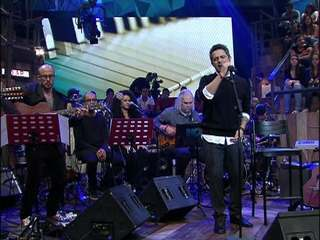 Alejandro Sanz canta 'No me compares' no 'Altas Horas'