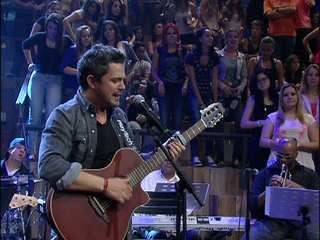 Alejandro Sanz canta 'Me sumerjo' no 'Altas Horas'