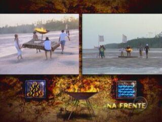 No Limite - Fase Metal (2001): Primeira prova