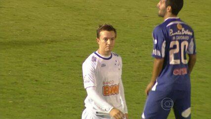 Cruzeiro perde para o Defensor Sporting no Uruguai