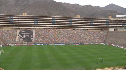 Atlético-PR joga contra o Universitário do Peru pela Libertadores