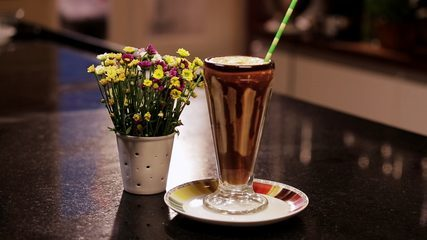 Milk-Shake de Café e Chocolate