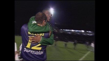 Em 1999, Palmeiras vence Flamengo por 4 a 2 pela Copa do Brasil