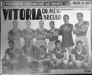 Confira a trajetória do Fluminense na campanha do título da Copa Rio de 1952