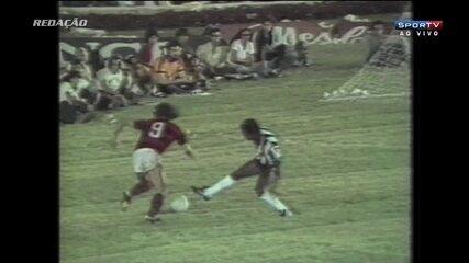 Redação AM: gol de Nunes pelo Flamengo contra o Atlético-MG na final do Brasileiro de 1980