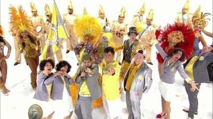 Aprenda a letra do samba-enredo da 'Amarelo e Cinza'