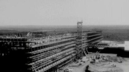 Veja como foi a construção de Brasília