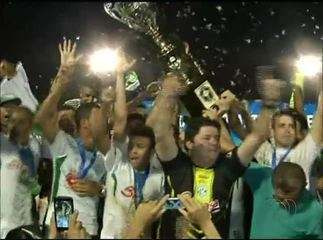 TEC comemora o título de campeão do Campeonato Tocantinense