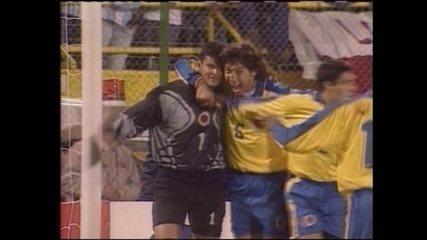 Em 1999, Colômbia vence a Argentina por 3 a 0 pela Copa América