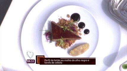 Leonardo Paixão ensina a fazer um Pernil Assado no 'Super Chef'