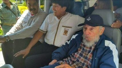 Fidel Castro celebra aniversário às vésperas de reinauguração de embaixada dos EUA