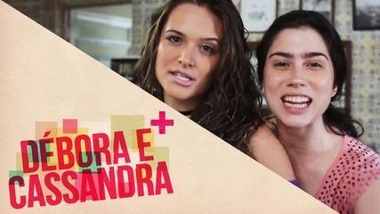 Conheça Cassandra e Débora, personagens de Juliana Paiva e Olivia Torres