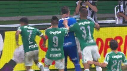 Veja os melhores momentos de Palmeiras x Santos