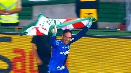 Herói de luvas: Fernando Prass brilha e garante o título do Palmeiras na Copa do Brasil