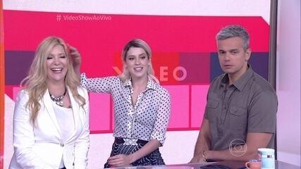 Sophia Abrahão participa do Vídeo Show ao lado da mãe