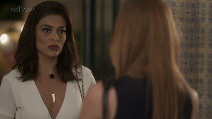 Teaser 15/9 - Carolina se arrepende e pede desculpas para Eliza