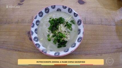 Aprenda a fazer sopa de batata doce com gengibre