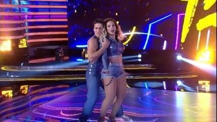 Valesca faz sua estreia no 'Dança dos Famosos 2016'
