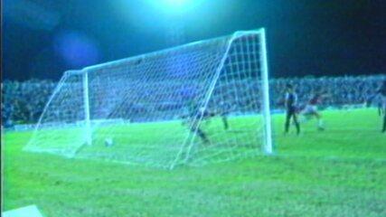 Relembre o gol do Auto Esporte no título paraibano de 1987