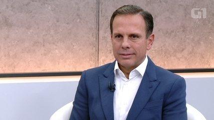 G1 entrevista o candidato João Doria (PSDB)