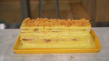 Aprenda a fazer uma torta salgada com pão de forma