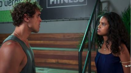 Teaser Malhação - 02/11: Gabriel procura Joana e diz já saber que ela é irmã de Bárbara