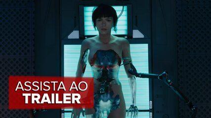 'Ghost in the Shell', produção baseada em mangá, ganha primeiro trailer