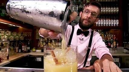 Coquetéis sem álcool são preparados com alimentos que auxiliam na digestão