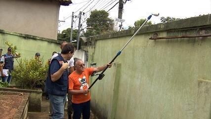 Ministro Alberto Beltrame participa de ação contra o Aedes aegypti em Belo Horizonte