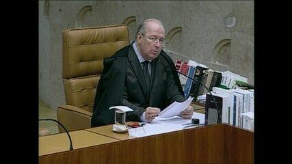 Ministro Celso de Mello critica postura de Renan Calheiros