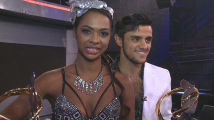Felipe Simas mostra que tem samba no pé na final do 'Dança dos Famosos 2016'