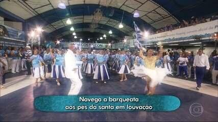 Portela deve levar os mistérios e as belezas dos maiores rios do Brasil para a avenida