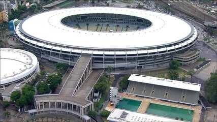 Maracanã está abandonado às vésperas do início da temporada de futebol