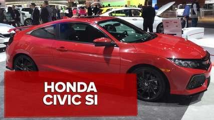 G1 mostra conceito do novo Honda Civic Si