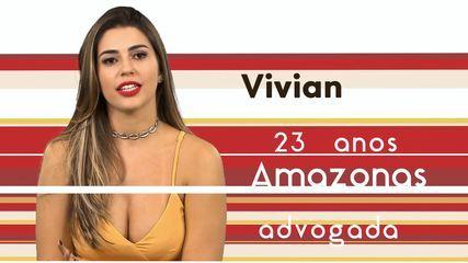 Conheça Vivian, a nova participante do BBB 17