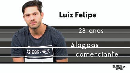 Conheça Luiz Felipe, o novo participante do BBB 17