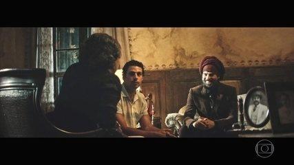 Omar leva amigo indiano para conhecer Zana