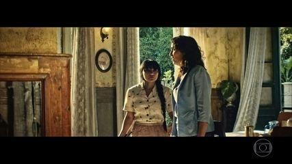Domingas e Rânia se preocupam com Zana
